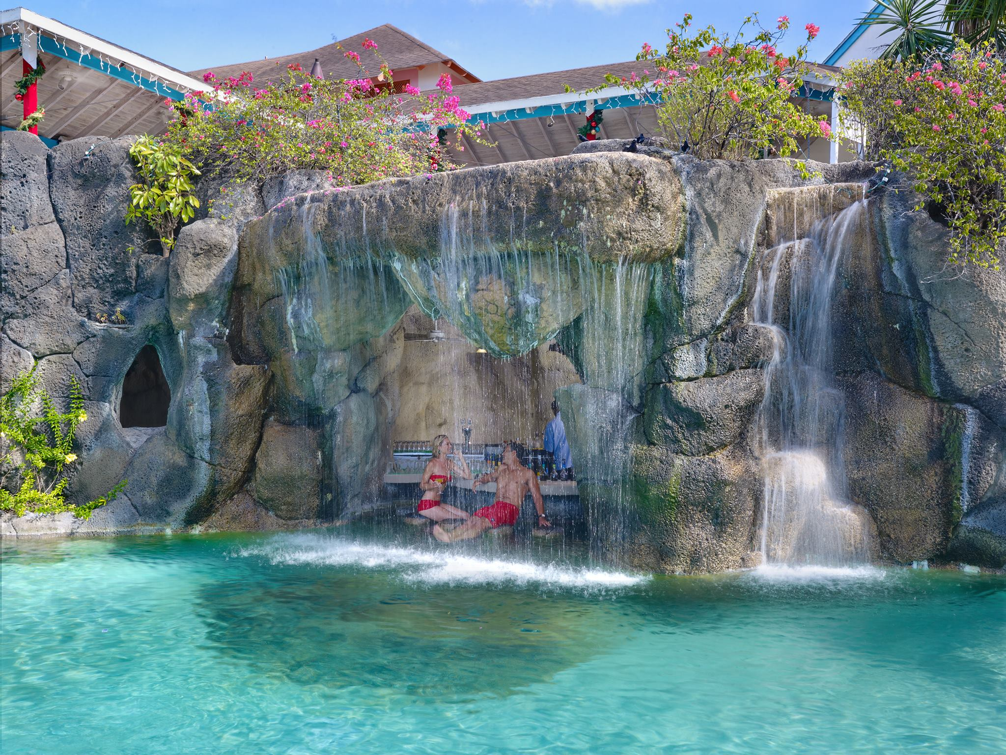 Best all inclusive resort in barbados barbados all inclusive - Crystal pools waterfall ...