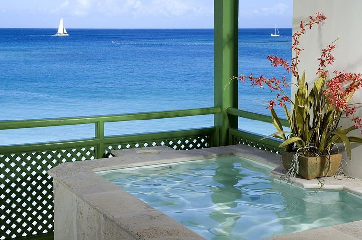 Penthouse plunge pool