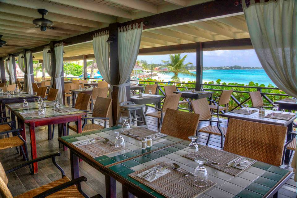 Sea Breeze Beach Hotel Restaurant View