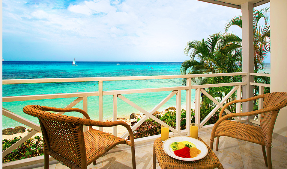 The Club Barbados - beach view room