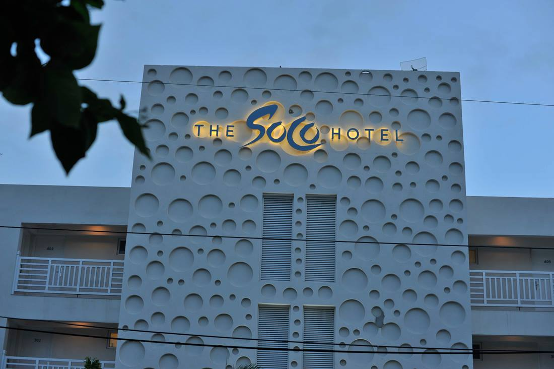 The SoCo Hotel Front